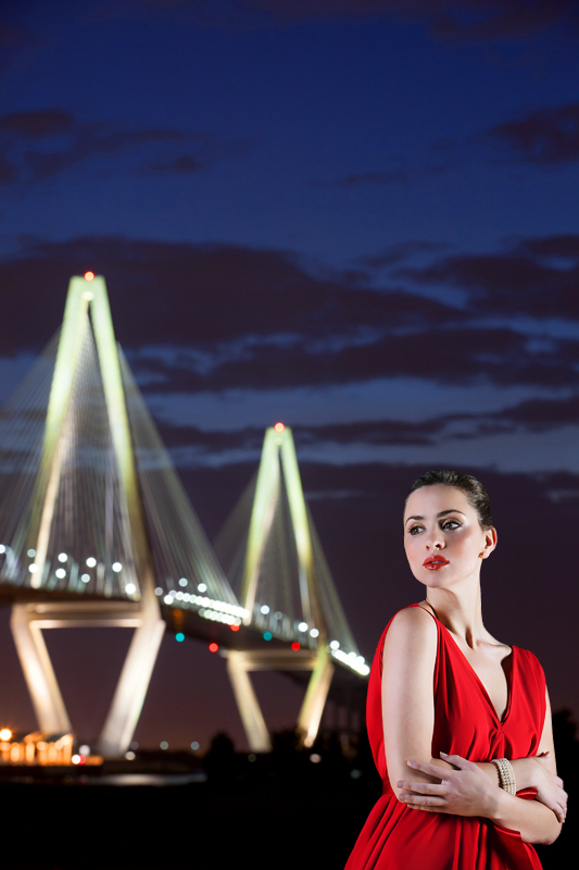 Ravenel Bridge Fashion Shoot