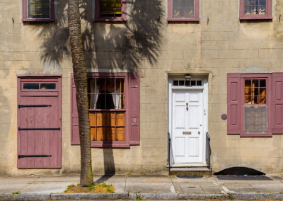 Charleston Purple Shutters