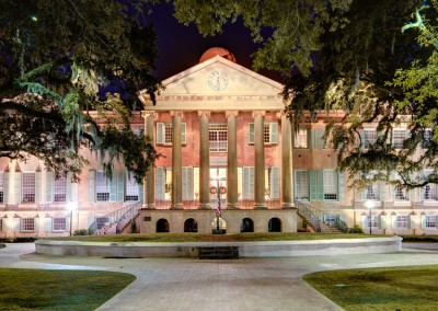 College of Charleston at Night