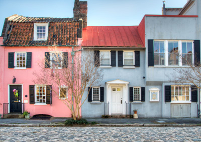 Pink House On Chalmers Street Charleston