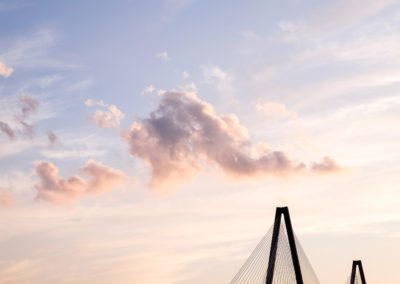 Ravenel Bridge Clouds
