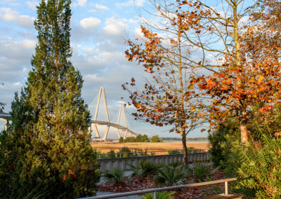 Ravenel Bridge Sunrise by Steven Hyatt