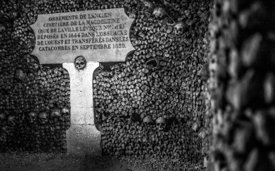 Photographing The Paris Catacombs