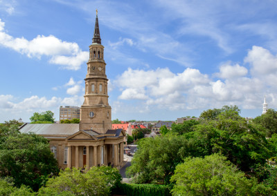 View Of St. Philips Church Charleston
