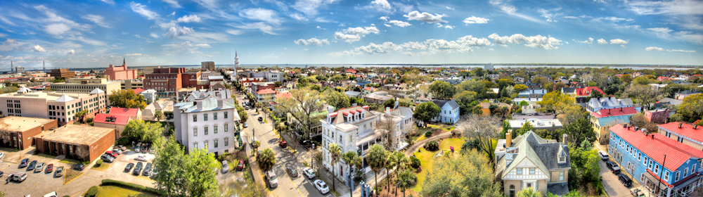Downtown Charleston Skyline
