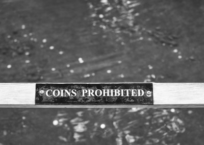 Coins Prohibited